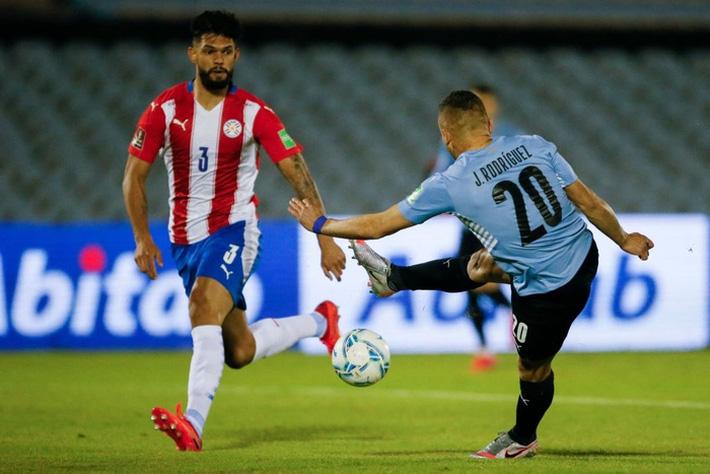 Suarez tịt ngòi, Uruguay hòa không bàn thắng với Paraguay - Ảnh 3.