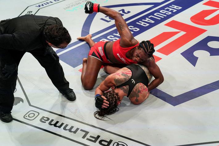 Boxer nữ số 1 thế giới Claressa Shields: Tập MMA khó hơn quyền Anh rất nhiều - Ảnh 3.