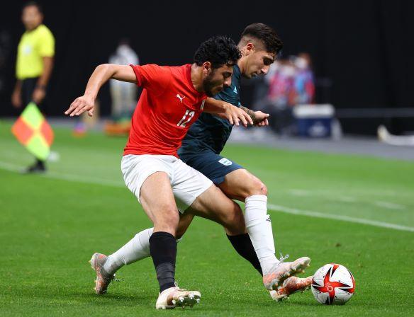 Bóng đá Olympic: Đàn em Messi thắng nhọc, quyết đấu Tây Ban Nha để tranh vé vào tứ kết - Ảnh 1.