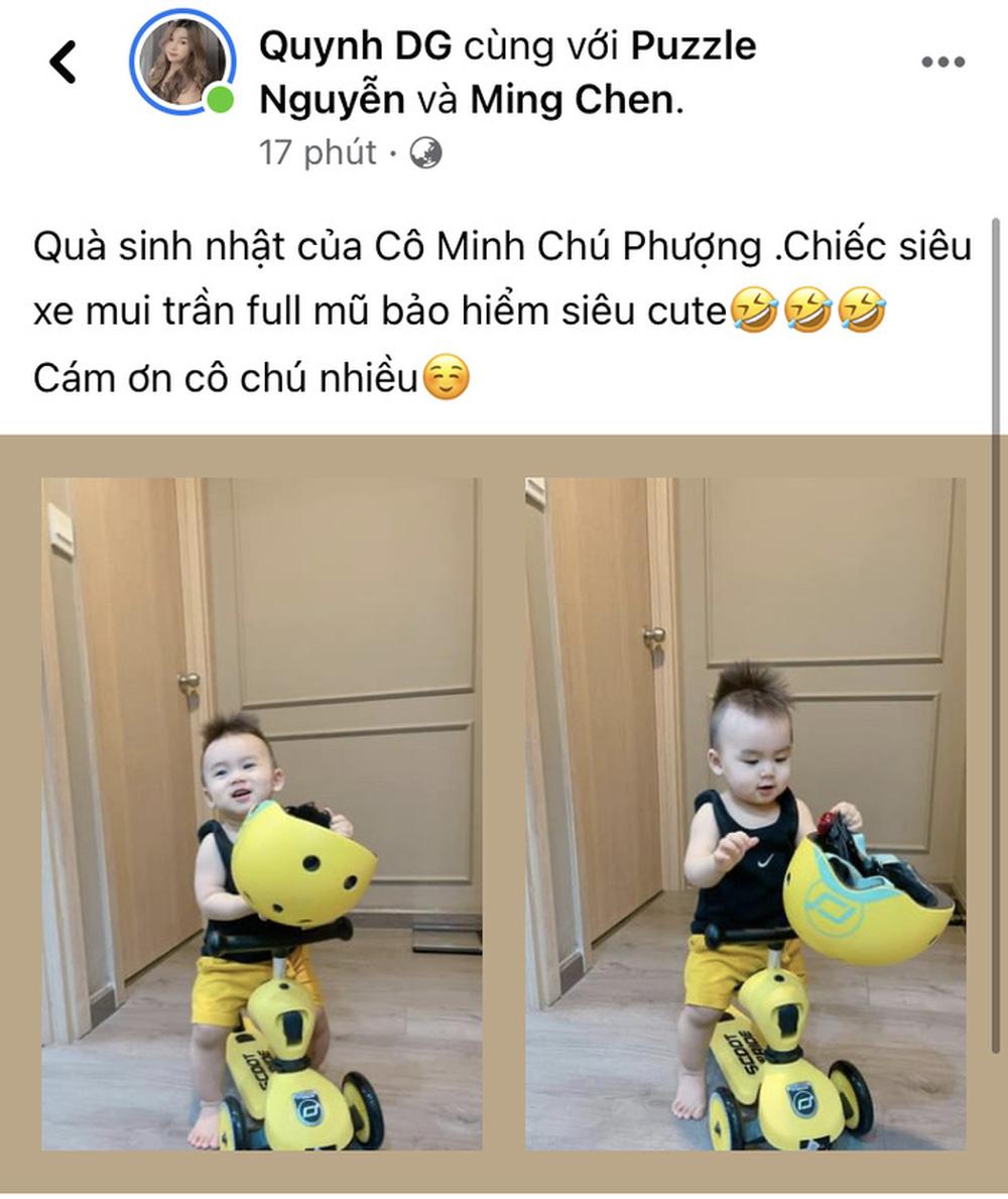 Công Phượng, Viên Minh gửi quà sinh nhật xịn cho con trai của Võ Huy Toàn - Ảnh 1.