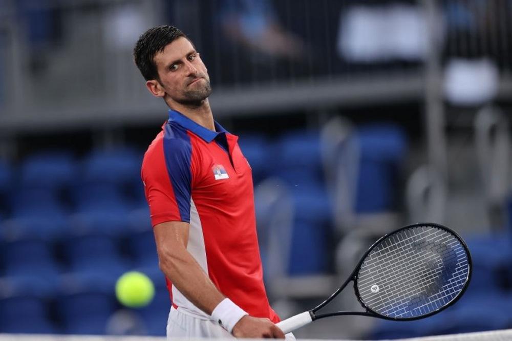 Djokovic tạo nên cú sốc lớn nhất Olympic 2021 - Ảnh 1.