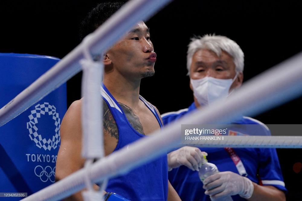 Mạnh miệng sau khi thắng võ sĩ Việt Nam, cao thủ Mông Cổ nhận cái kết đắng tại Olympic - Ảnh 1.