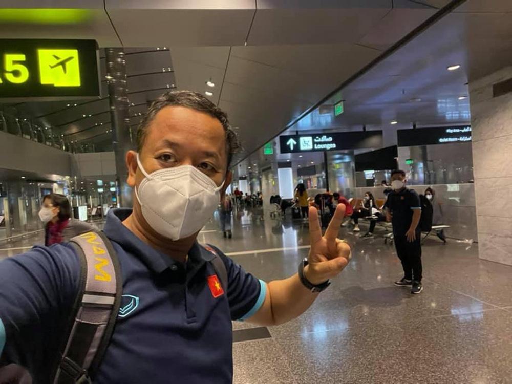 Tuyển Việt Nam đã tới Qatar, Tiến Linh kêu mệt rã rời - Ảnh 5.